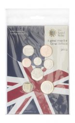 2012 Brilliant Uncirculated Change Coin Collection
